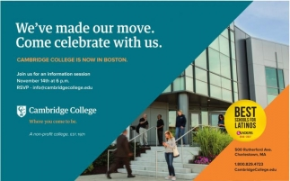 We've made our move. Come celebrate with us!