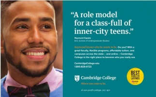 A role model for a class-full of inner-city teens