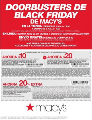 Doorbusters de Black Friday