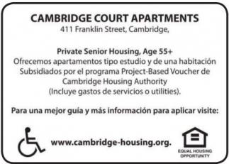 Cambridge Court Apartments