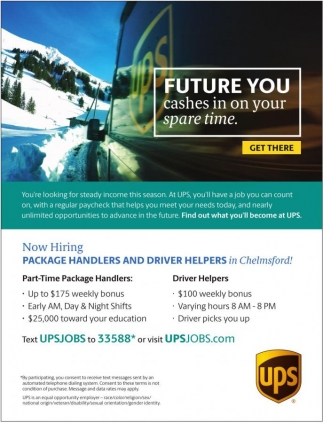Now Hiring Package Handlers and Driver Helpers