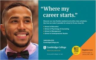 Where My Career Starts