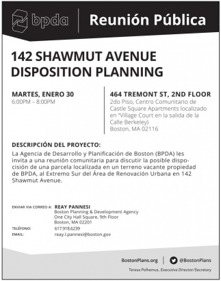 Disposition Planning