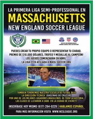 La Primera Liga Semi-Professional en Massachusetts
