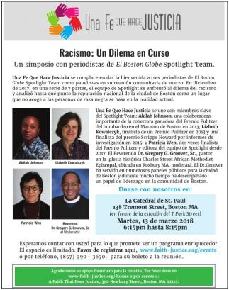 Racismo: Un Dilema en Curso
