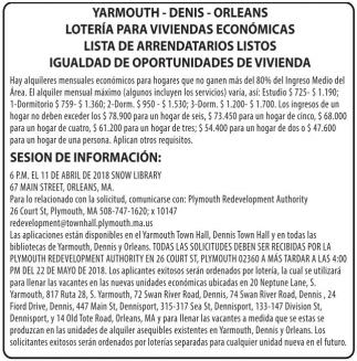 Lotería para viviendas económicas