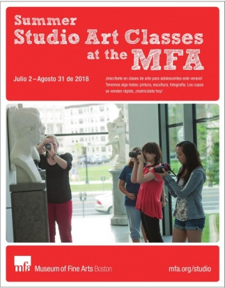 Summer Studio Art Classes at the MFA