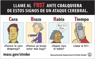 Llame al Fastante Cualquiera de Estos Signos de un Ataque Cerebral