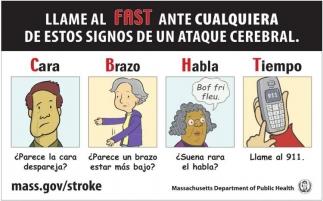 Llame al Fast Ante Cualquiera de Estos Signos de un Ataque Cerebral