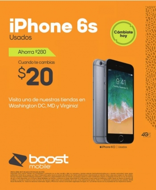 iPhone 6s Usados