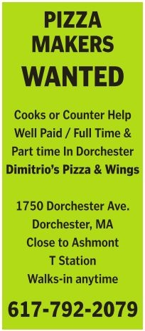 Pizza Makers Wanted