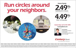 Run Circles Around Your Neighbors