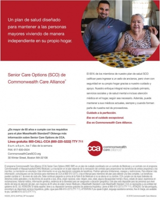 Senior Care Options (SCO) de Commonwealth Care Alliance