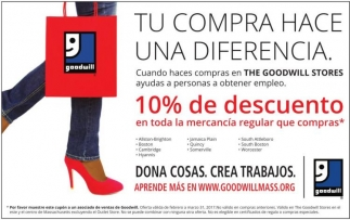 Tu compra hace una diferencia!