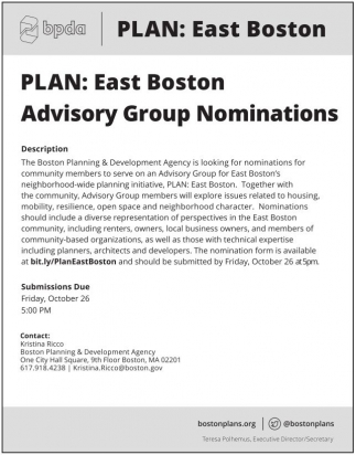 Plan: East Boston