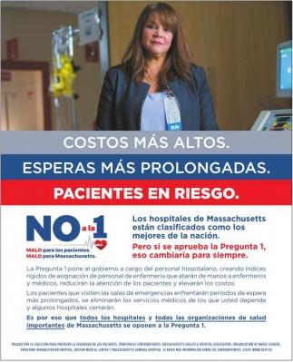 Costos más Altos, Esperas más prolongadas, Pacientes en Riesgo.