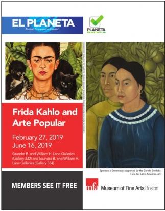 Frida Kahlo and Arte Popular