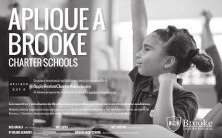 Aplique a Brooke Charter Schools