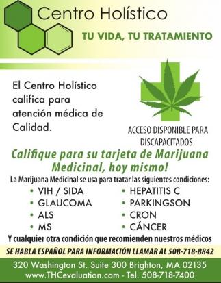 Califique para su Tarjeta de Marijuana Medicinal