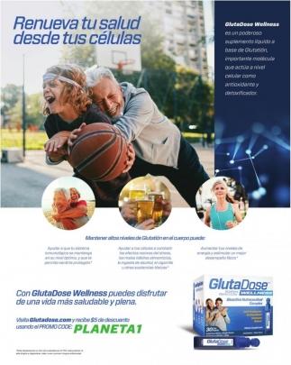 Con GlutaDose Wellness Puedes Disfrutar de una Vida más Saludable y Plena