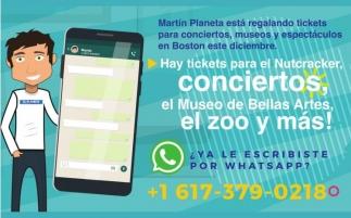 Martin Planeta Esta Regalando Tickets