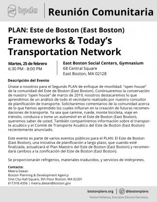 Frameworks & Todays Transportation Network