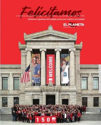 Felicitamos al Museum of Fine Arts en su cumpleaños 150