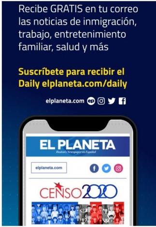 Suscríbee para Recibir el Daily