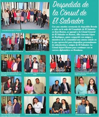 Despedida de la Consul de El Salvador