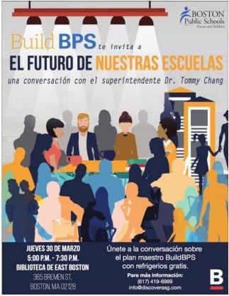 Build BPS te invita a El Futuro de Nuestras Escuelas