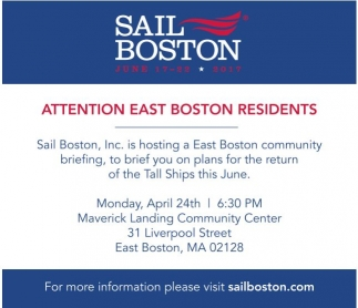 Attention East Boston Residents