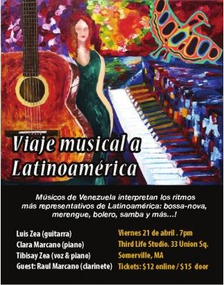 Viaje Musical a Latinoamérica