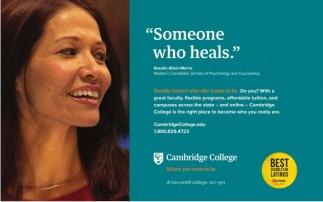 Someone who heals