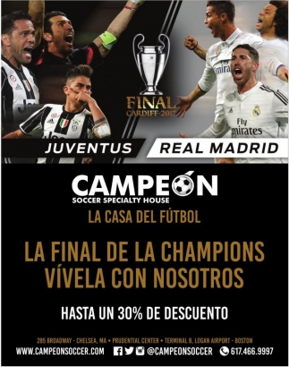 La Final de la Champions Vívela con Nosotros