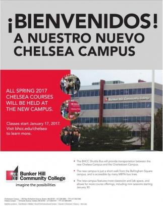 ¡Bienvenidos! A nuestro nuevo Chelsea Campus