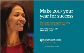 Make 2017 your year for success
