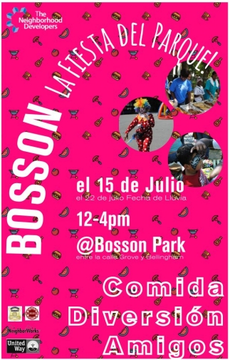 Boston La Fiesta del Parque!
