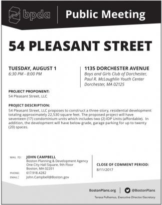 54 Pleasant Street