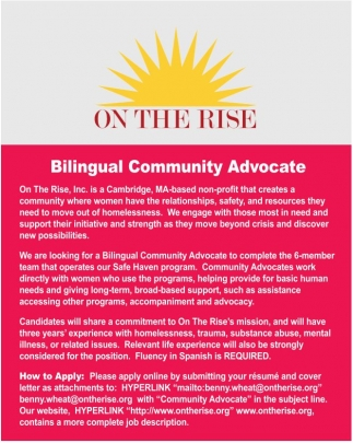 Bilingual Community Advocate