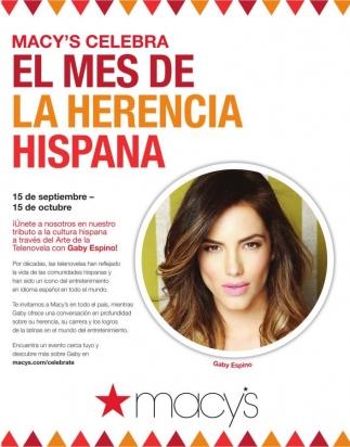 El mes de la herencia hispana