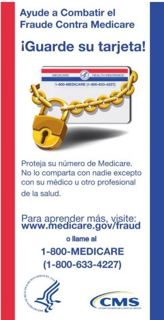 ¡Ayude a Combatir el Fraude Contra el Medicare!