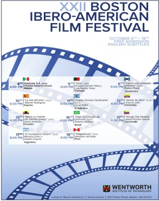 XXII Boston Ibero-American Film Festival
